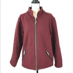 Ibex 100% Merino Wool Jacket